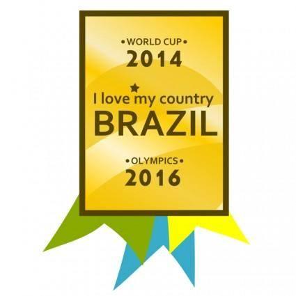 Brazil 2014-2016 Medal
