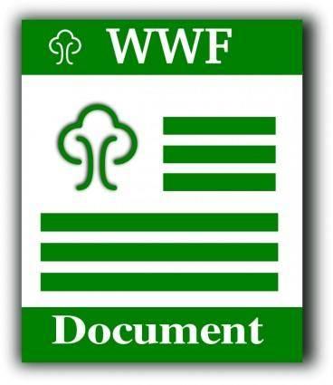 WWF format icon
