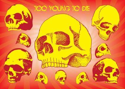 Too Young To Die Vector