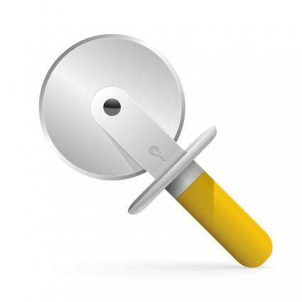 Pizza cutter icon