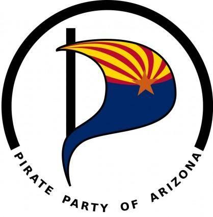 free vector Pirate Party of Arizona logo
