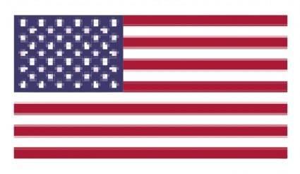 free vector Pixelated Flag