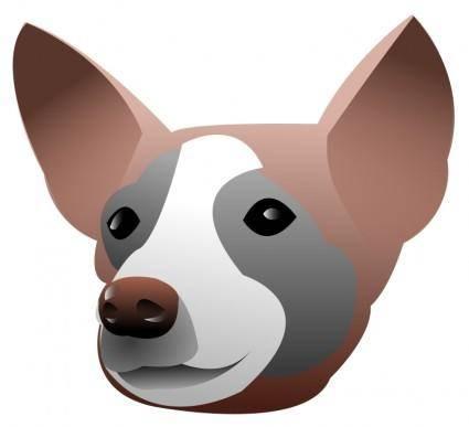 free vector Dog Portrait