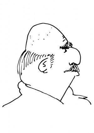 free vector Cartoon head20