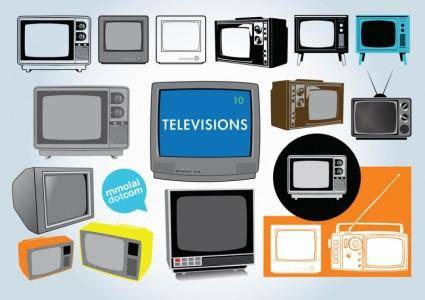 Free Television Vectors
