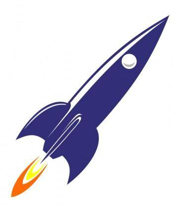 free vector R is for Rocket