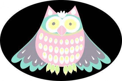 free vector Cute owl