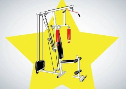 free vector Fitness Equipment Vector