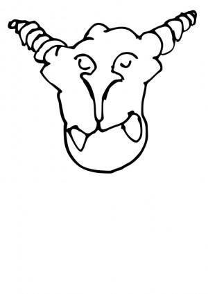 free vector Cartoon monster4