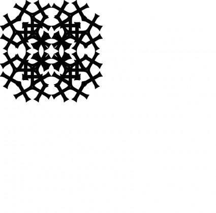 free vector Tatzenkreuz Muster3