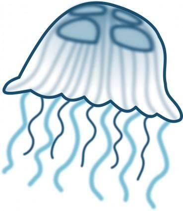 free vector Jellyfish