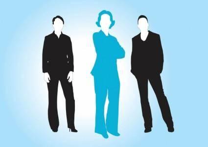 free vector Business Women Vectors