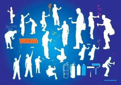 Graffiti Artists Vector