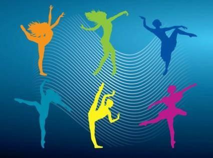 free vector Ballet Vectors