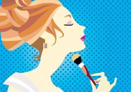 free vector Free Make-Up Vector