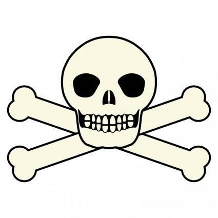free vector Smiling Skull