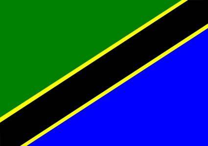 free vector Tanzania Flag