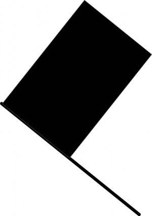 free vector Black flag