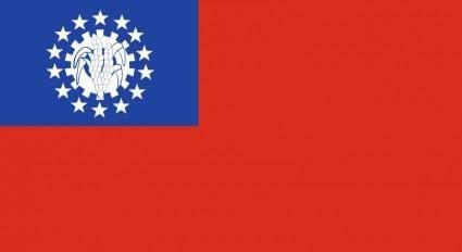 free vector Myanmar