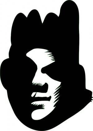 free vector Black Face (graffiti)