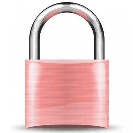Padlock pink