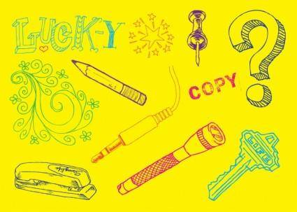 free vector Doodles Vectors