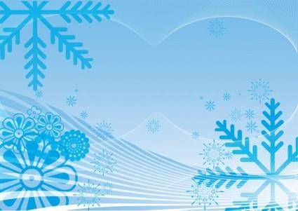 free vector Winter Snow Vector