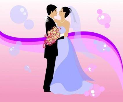 free vector Free Wedding Vector Art