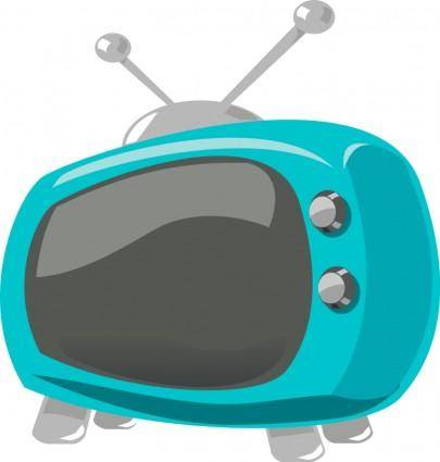 free vector Television comic style