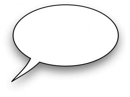 free vector Cartoon,speech bubble