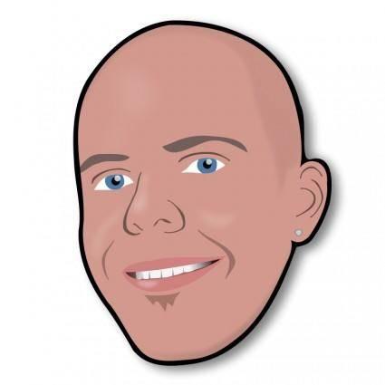 free vector REJON Smiling Head