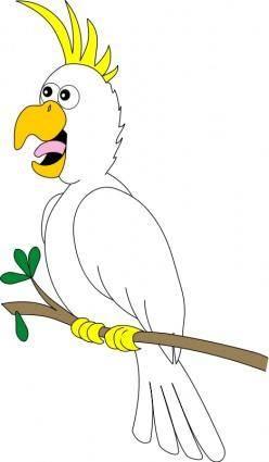 free vector Cartoon bird 16