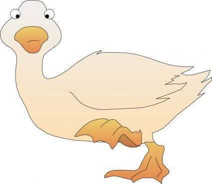 Cartoon bird 08