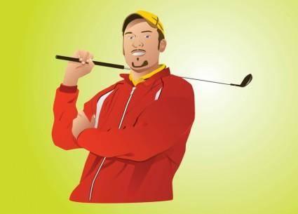 Golf Pro Vector
