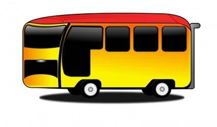 free vector Bus-cartoon