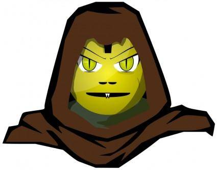 free vector Hooded Cartoon Character