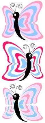 free vector Cartoon_butterfly_cm8