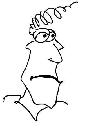 Cartoon head9