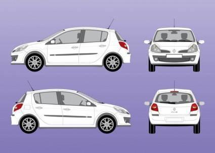 free vector Renault Clio Vector