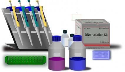 free vector Molecular Biology work station