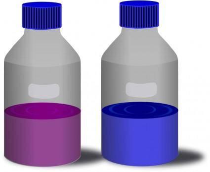 free vector Reagent Bottle