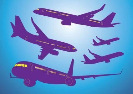 free vector Airplanes Vectors