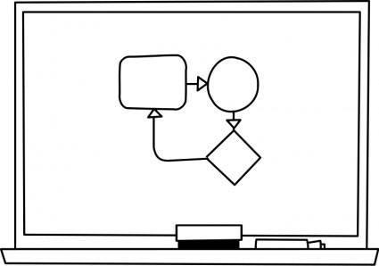 free vector Tableau blanc / White board