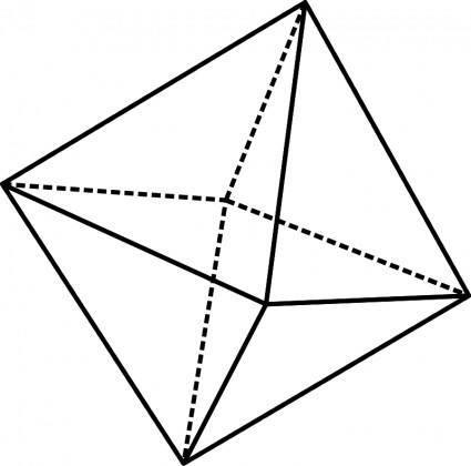 free vector Octahedron