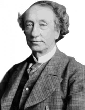 free vector Sir John A. Macdonald 1st Prime Minister of Canada