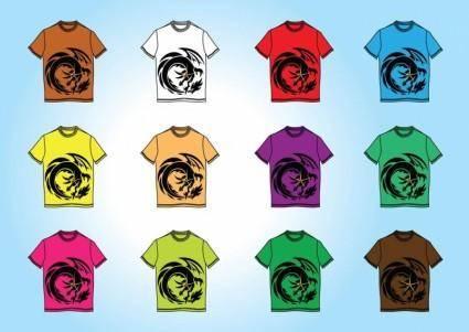 free vector Free T-Shirt Templates Vectors