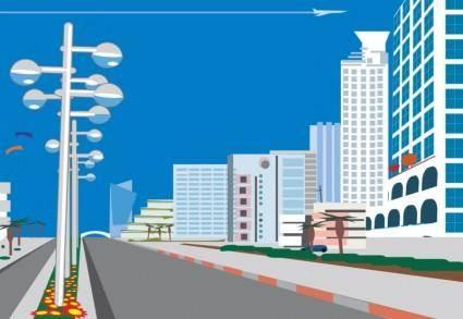 free vector Boulevard Vector