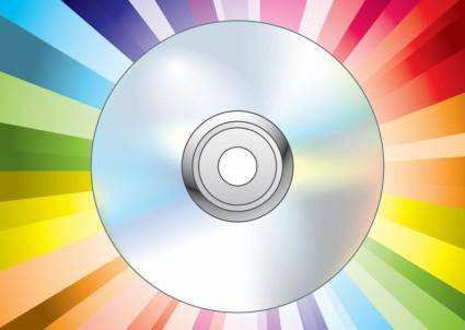 free vector CD DVD Disc Vector