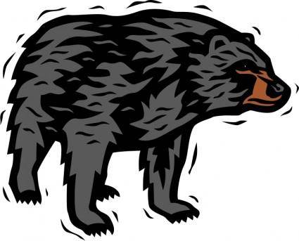 free vector Bear 2