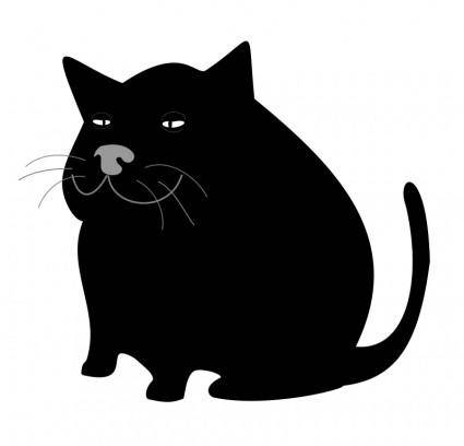 free vector Black Cat / Gato Negro